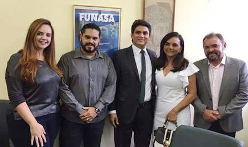 Indicação de Chapadinha, novo superintendente da Funasa no Pará toma posse, funasa