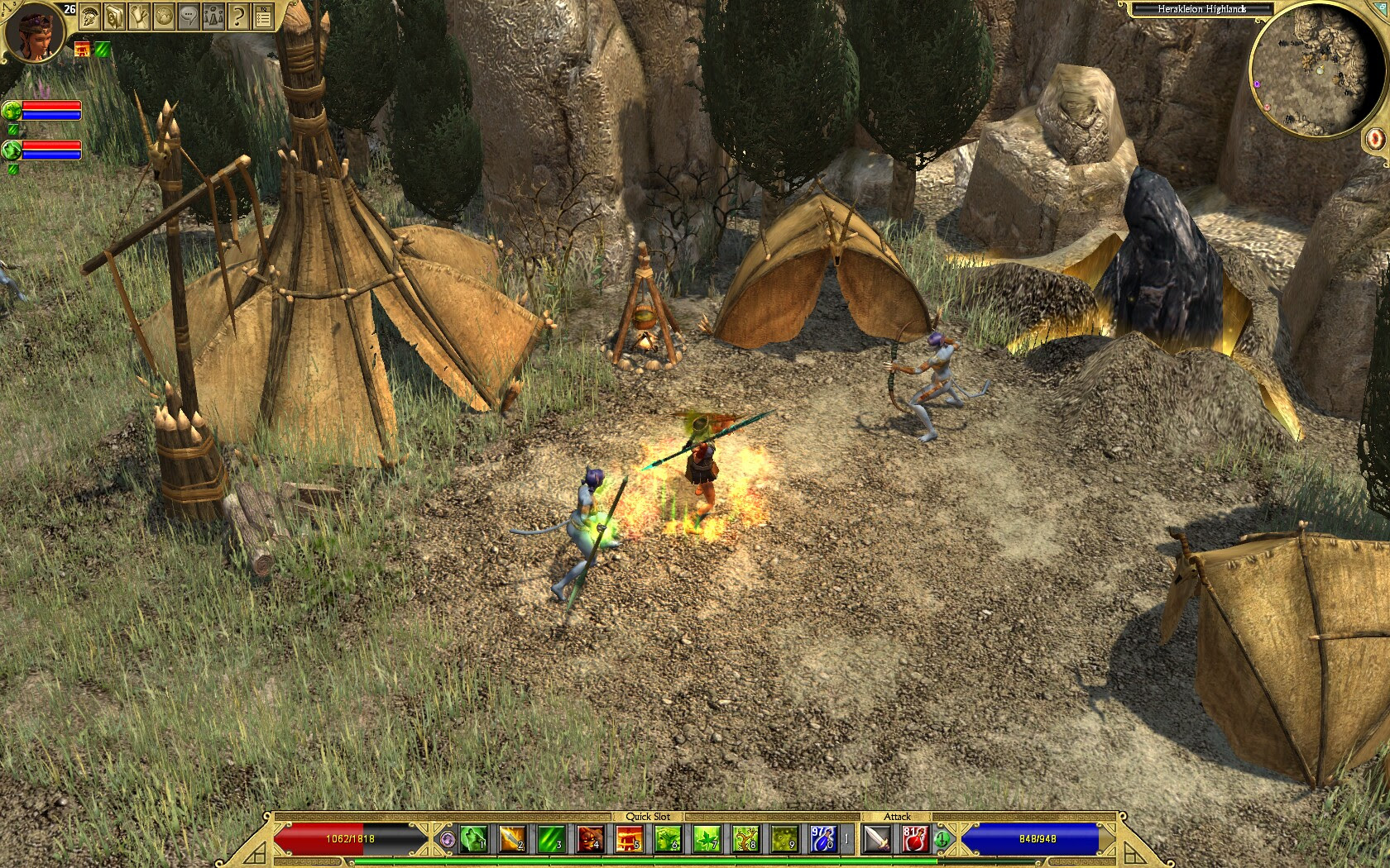 Titan Quest Anniversary Guide Gamersonlinux