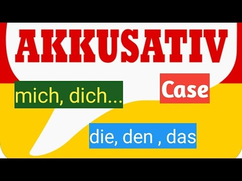 AKKUSATIVE case IN GERMAN| A1 LEVEL| LEARN GERMAN| GERMAN CLASS|