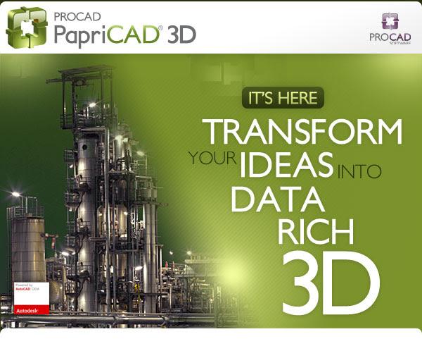 PapriCAD 3D