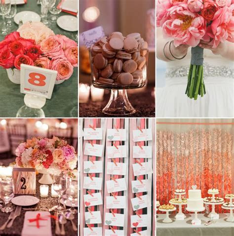Divine Wedding Color Palette: Guava   Cocoa