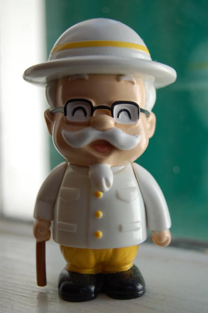 Kentucky Fried Chicken Colonel Sanders Around The World Pr