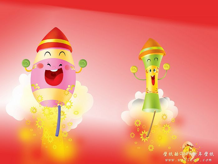 chinese new year wallpapers year of rooster chinese firecrackers picture