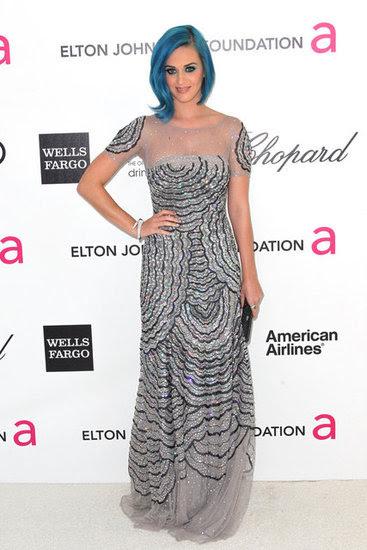 Fotos do tapete vermelho vestido no Oscar de Elton John Partido 2012