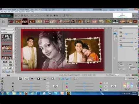 Karizma wedding album software free download   YouTube