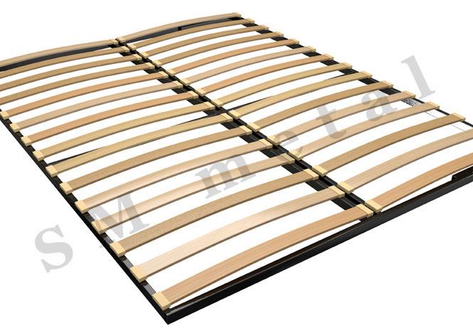 Frame Slatted Metal Bed Frames