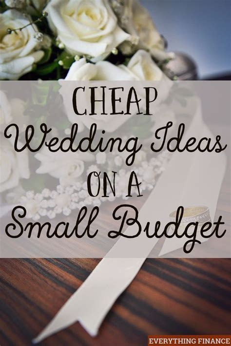 25  best ideas about Low cost wedding on Pinterest
