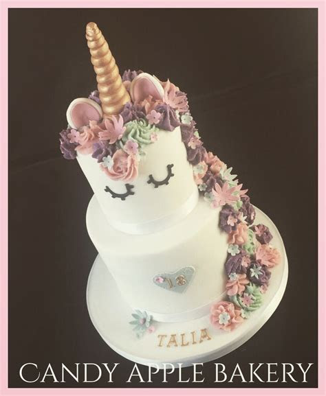 2 tier unicorn cake   Food   Pinterest   Unicorns, Cake