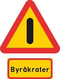 Varning för byråkrat