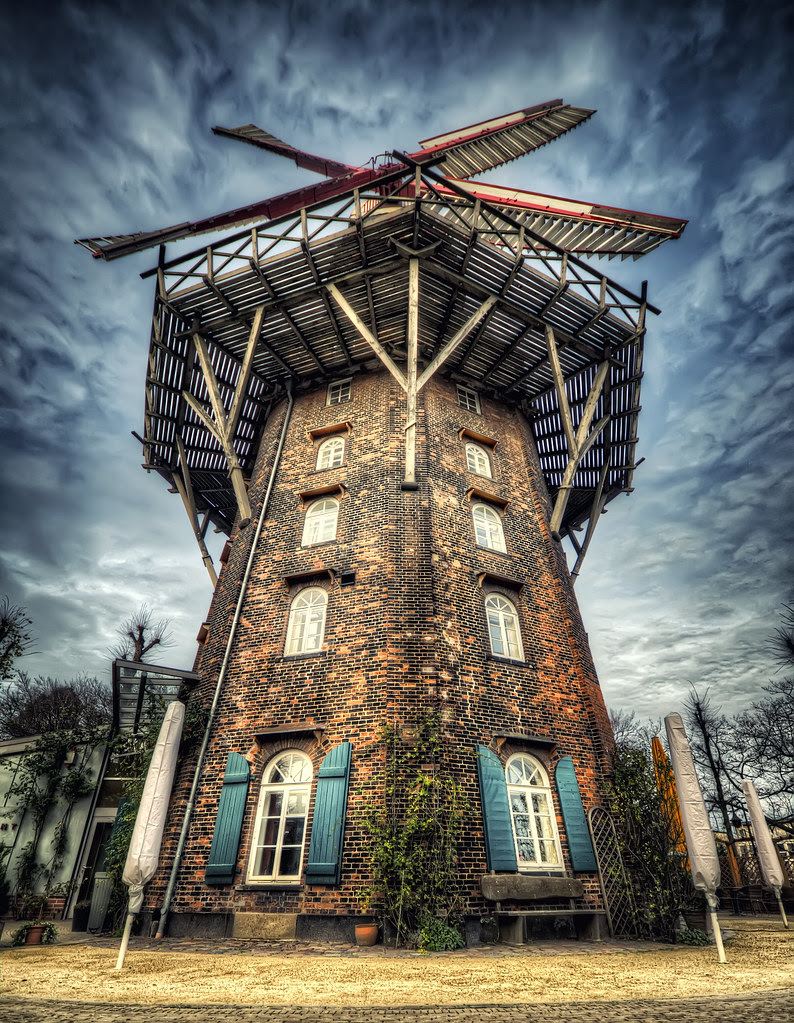 """""""Mühle Am Wall"""" Bremen - HDR"""