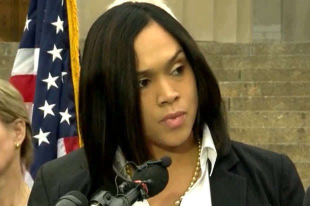 Twitter conservatives can't wrap their heads around Marilyn Mosby -- so they attack her instead