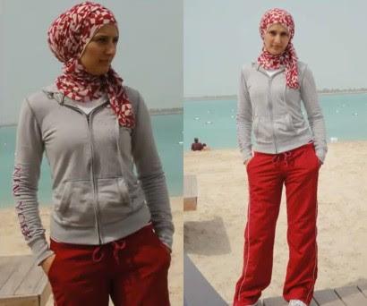 Cara Memakai Hijab Gaya Sporty Untuk Berolahraga | Tutorial ...