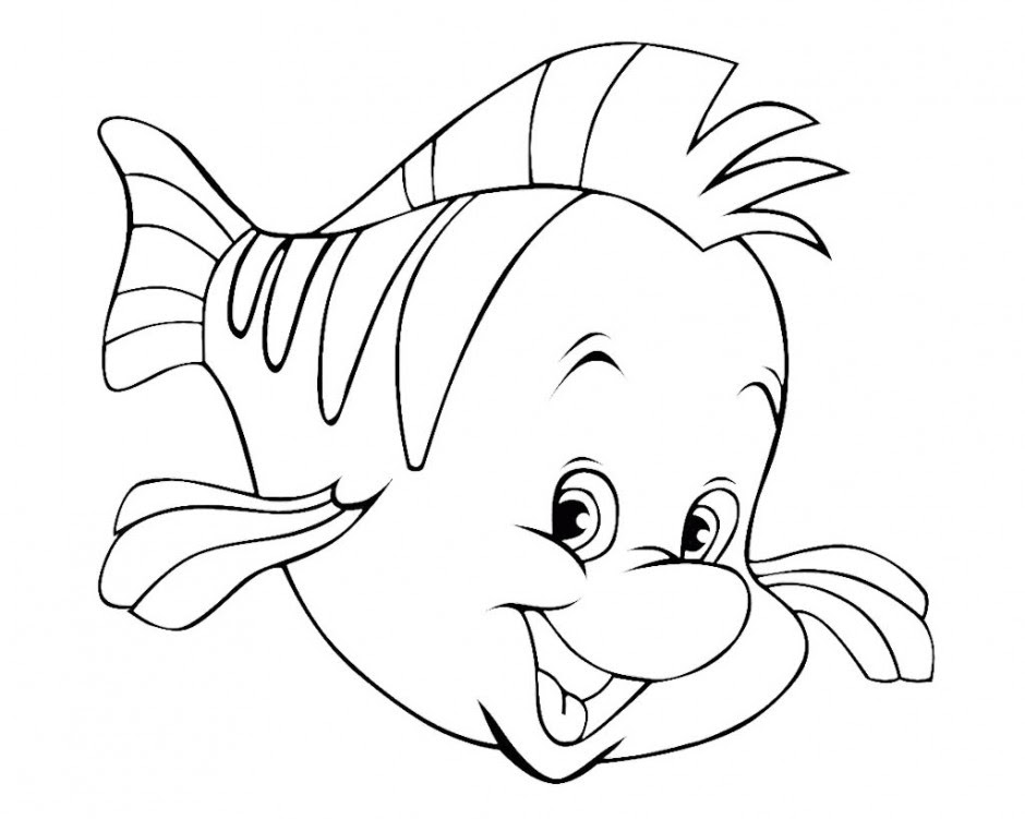 Black And White Fish Drawing at GetDrawings | Free download