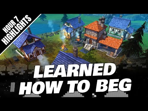 LEARNED HOW TO BEG! LEGENDS OF ULTIMA Gameplay (Hour 7 Highlights)