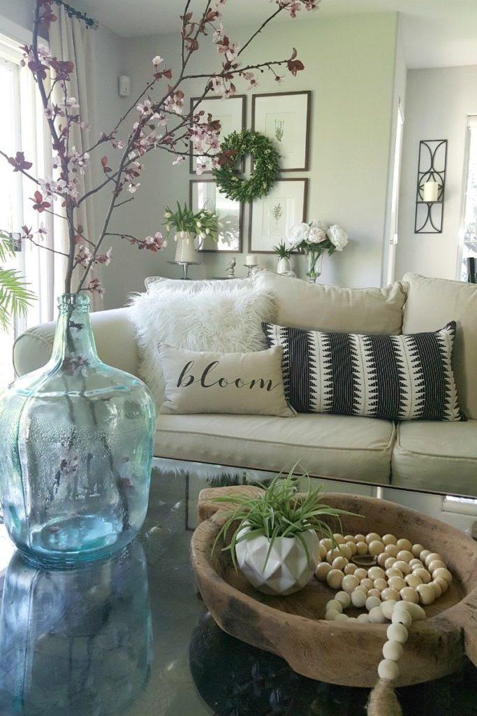 6 Budget Spring Decor Ideas - The Design Twins | DIY Home ...