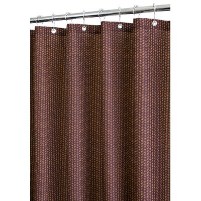 Brown Polyester Shower Curtain | Wayfair