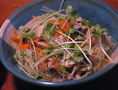 spontaneous ramen with Kurabota pork