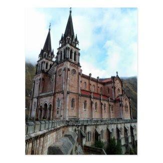 Postcard of Covadonga (Asturias) Tarjeta Postal