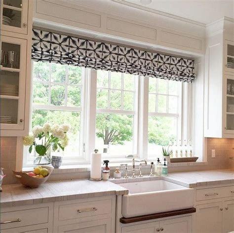 kitchen window treatment ideas  decoration