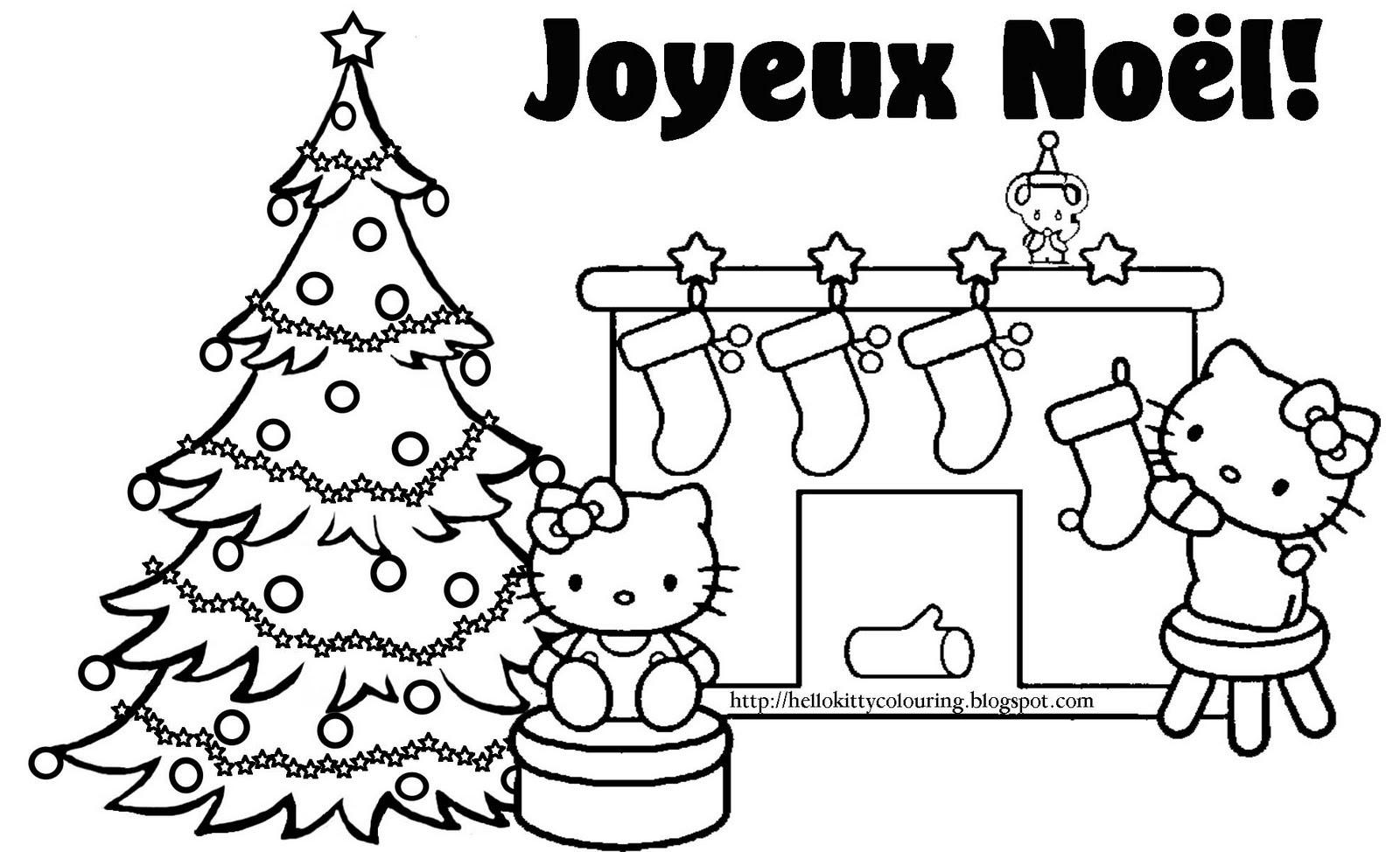 Les Plus Recherchés Coloriage De Joyeux Noel Coloriages