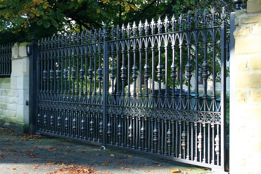 Wrought Iron Gates North Valley Forge