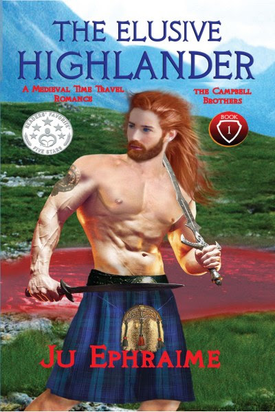 Book Cover for The Elusive Highlander Cambell Brothers Trilogy Book 1 by Ju Ephraime