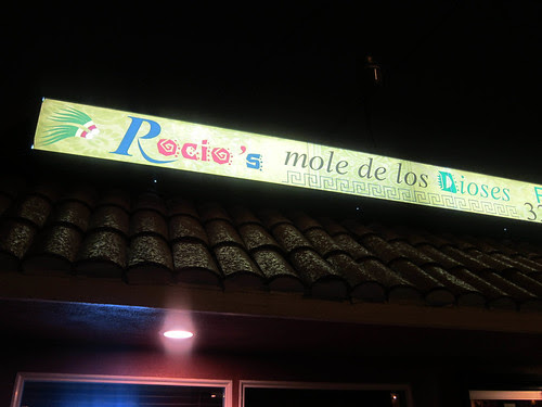 Dinner at Rocio's Mole de los Dioses