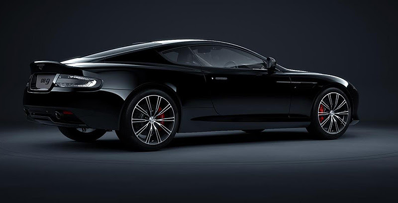 db9carbon black rear three quarter IIHIH