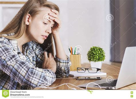 tired  frustrated office worker   computer