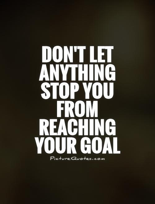 Achieving Goals Quotes. QuotesGram