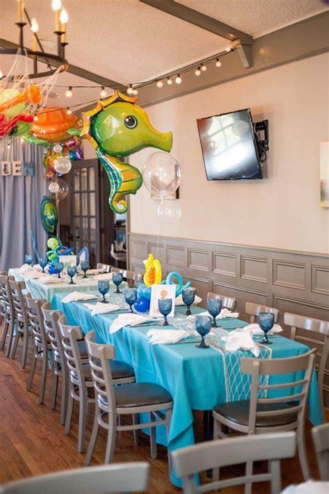 Kara's Party Ideas Bubbly Under the Sea Birthday Party