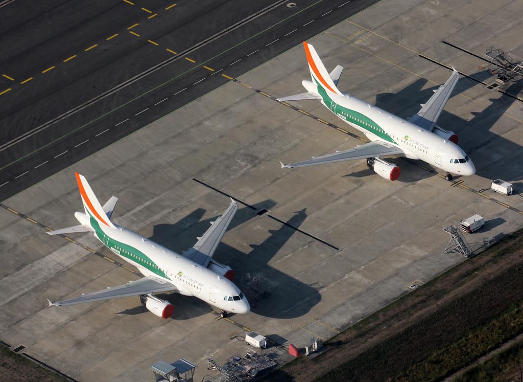 Air Côte d'Ivoire's Airbus A319s