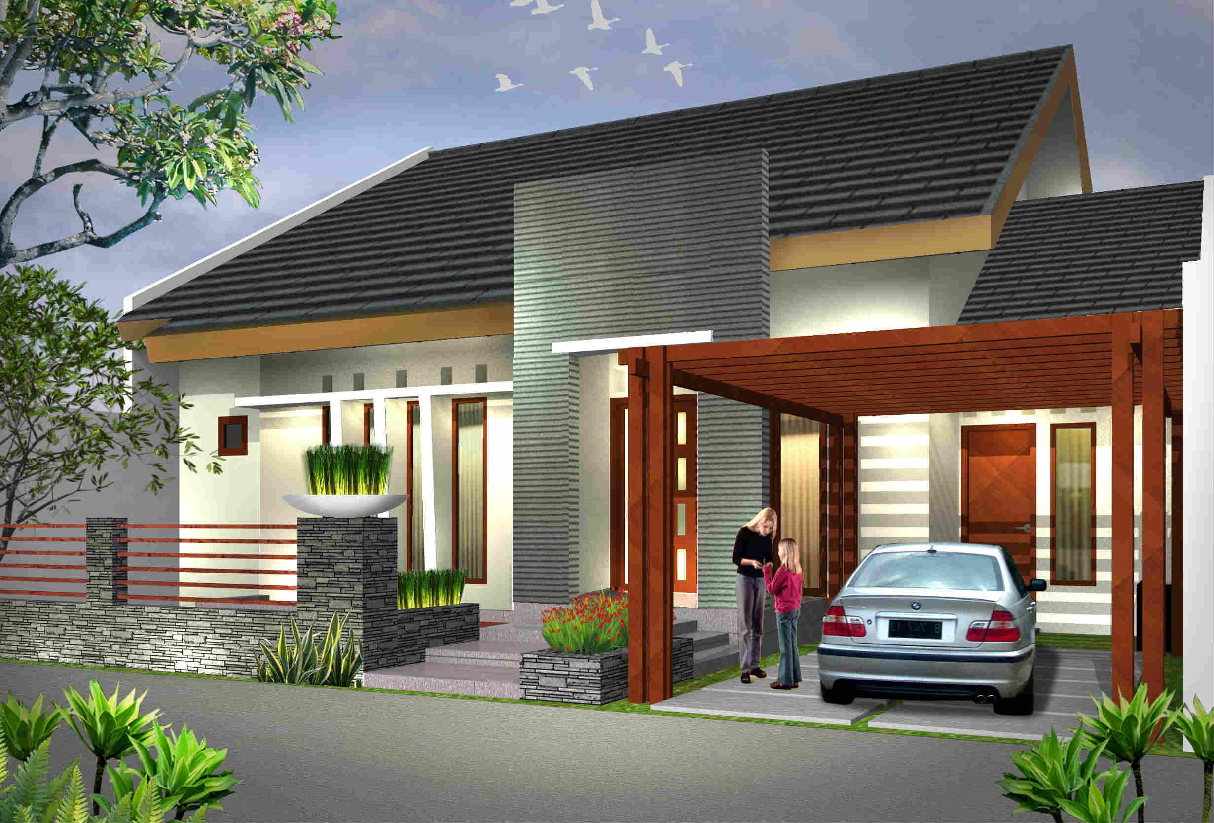 66 Desain Rumah Minimalis Industrial