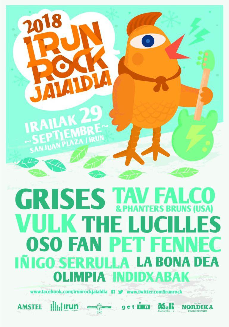 """El grupo """"Grises"""" cabeza de cartel del Irun Rock"""