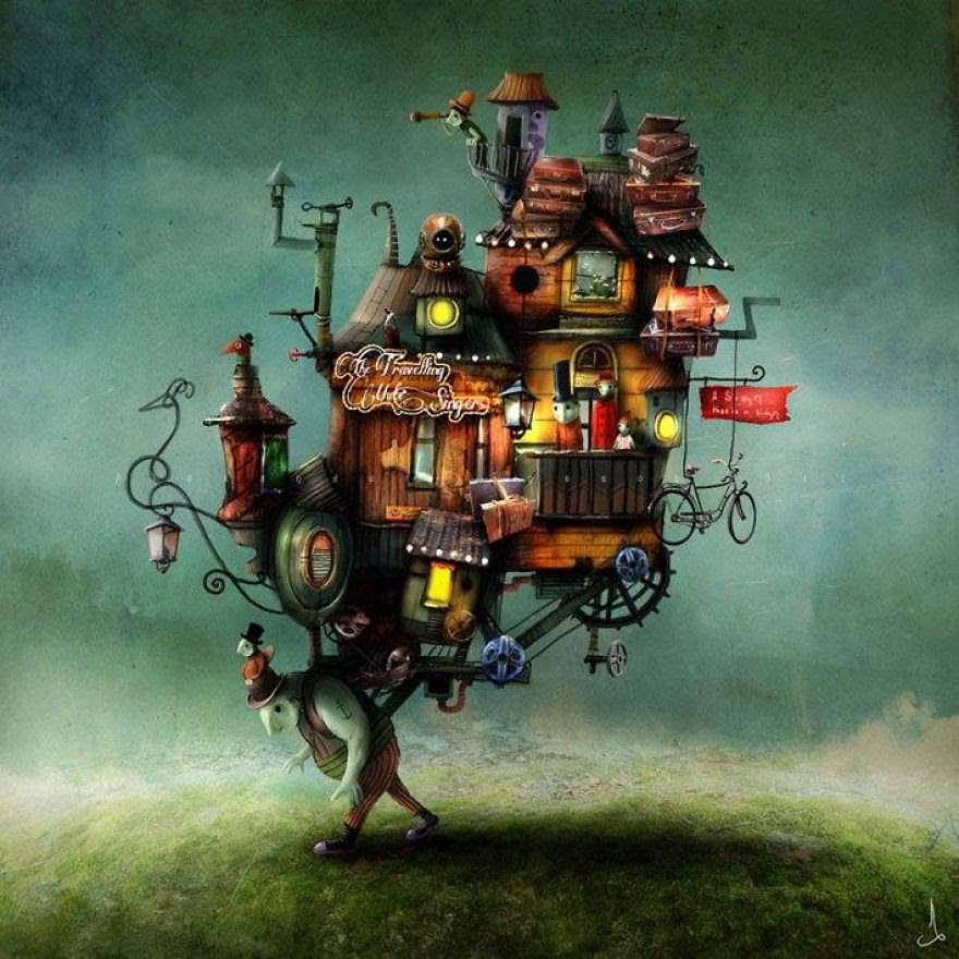 Alexander Jansson illustration fairytale4