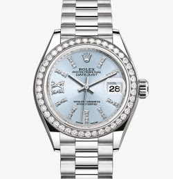 Rolex Lady Date Just Platinum