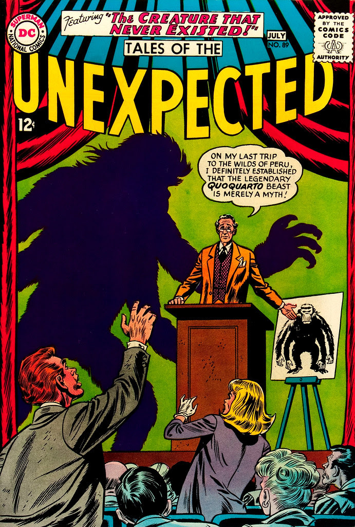 Tales of the Unexpected #89 (DC, 1965) Dick Dillin cover
