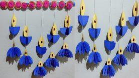 Easy Diwali Decoration Ideas L Diwali Home Decoration L Diwali Decoration Diy Paper Diya Craft Best Home Design Video
