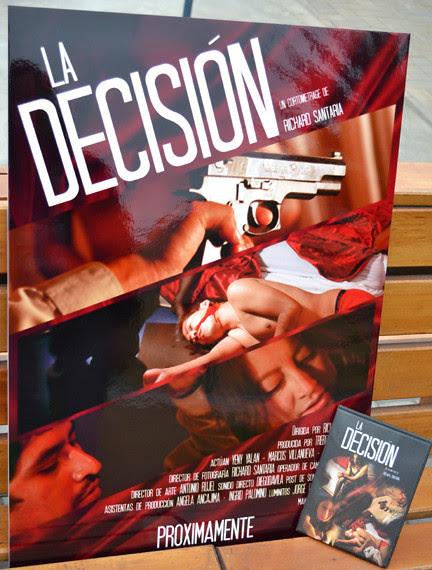 la decisión tapa y afiche