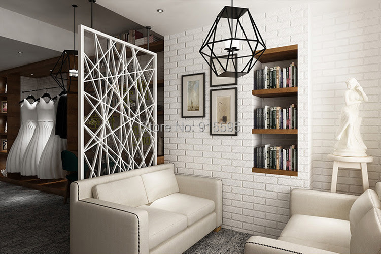 Off White 3d Modern Design Brick Wallpaper Roll Vinyl Wall Covering Wall Paper For Living Room Dinning Room Store Background Designer Wall Paper Wall Paperbrick Design Wallpaper Aliexpress