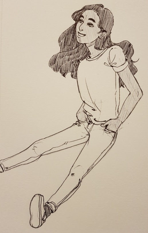toonsalot said: Hi, may I request Connie (from Steven Universe) in jeans? Answer: