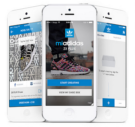 Design your own adidas ZX FLUX Shoes
