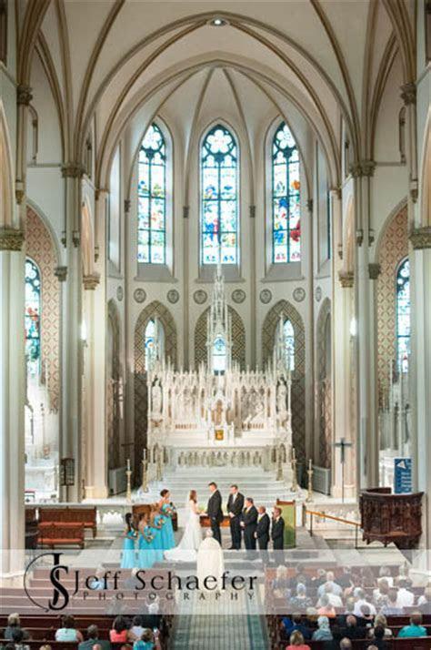St Francis de Sales wedding Hyatt Regency photographs
