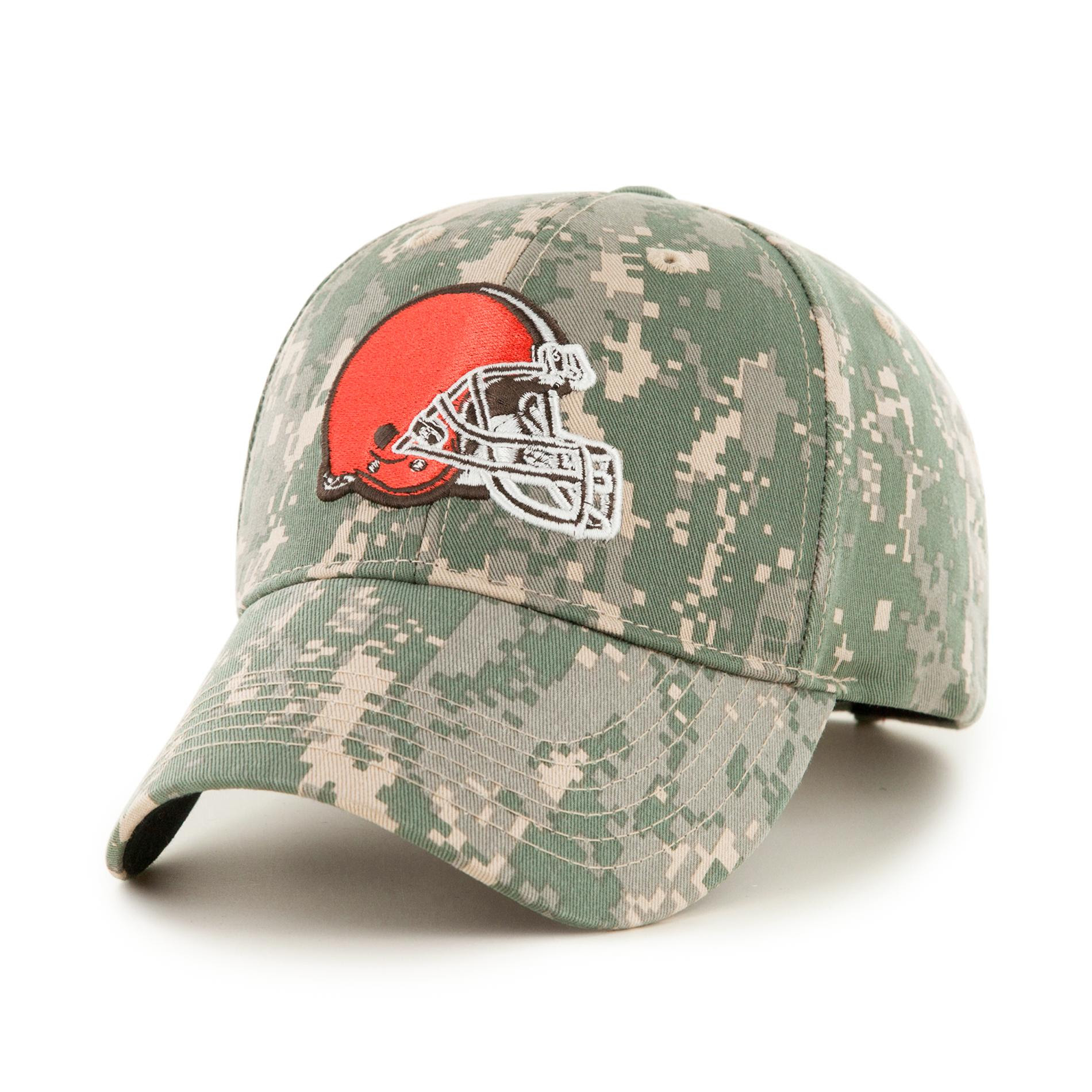 NFL Mens Camo Baseball Hat Cleveland Browns