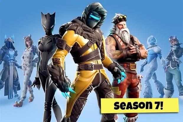 Fortnite Season 7 skins: Starter Skins, Battle Pass Tier ...