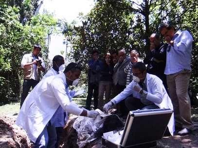 Corpo de Mariah é encontrado durante investigações Foto: TV Globo / Divulgação