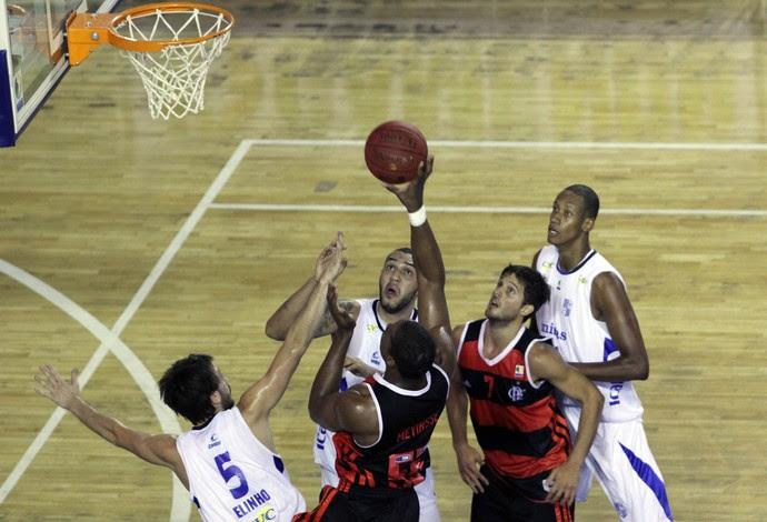 Basquete NBB - Minas x Flamengo (Foto: Orlando Bento/Divulgação)