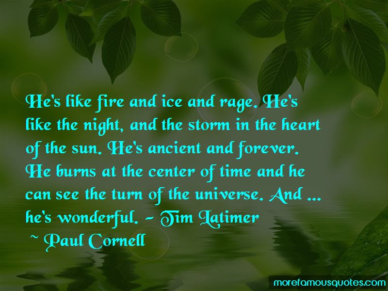 Quotes About Fire And Ice Top 72 Fire And Ice Quotes From Famous