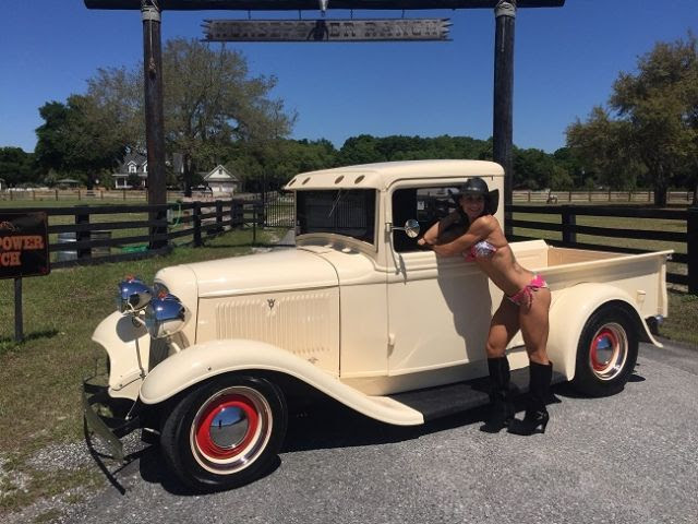 1934 Ford Street Rod Pickup Truck 400hp Crate Engine V8