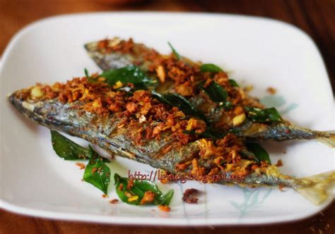 ikan goreng berempah resepi mudah  cepat teratak